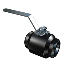 1PC FORGED STEEL FLOATING BALL VALVE